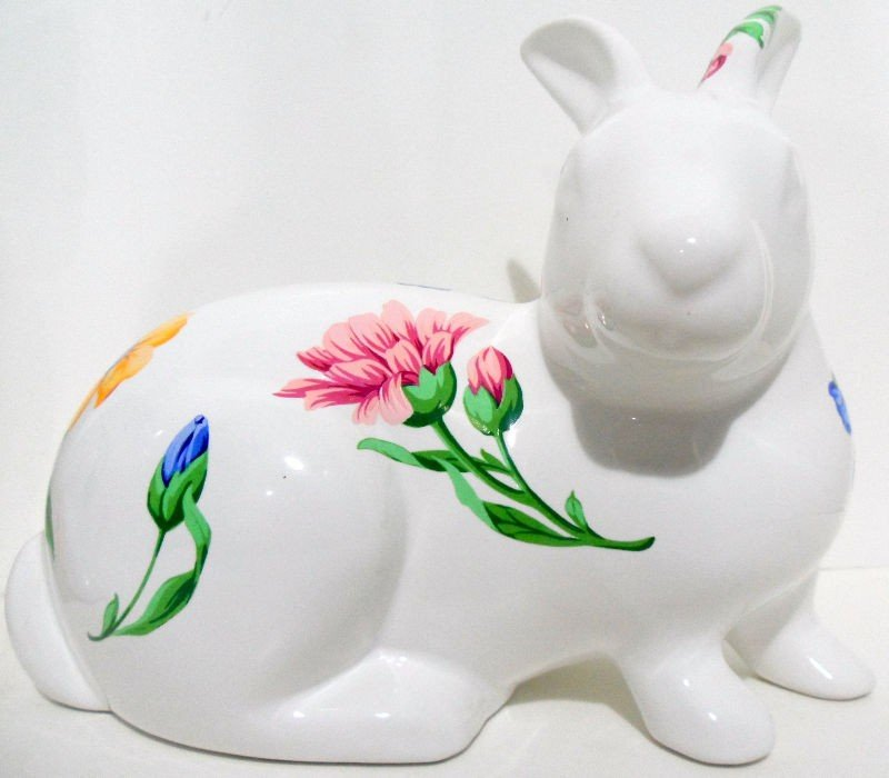 920: Tiffany & Co. Porcelain Rabbit and Cat - 2