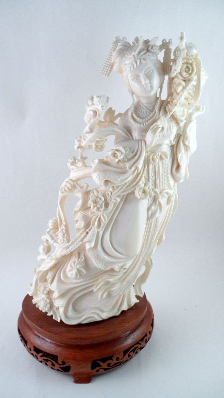 4: Chinese Ivory Sinuous Beauty