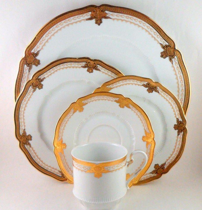 10: Haviland Limoge Regis Pattern Porcelain (55)