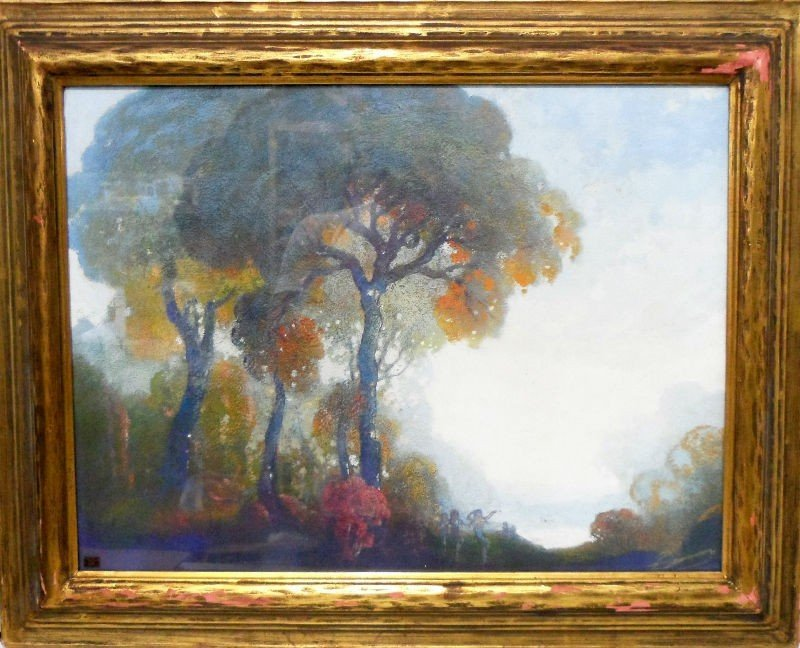 303: W.C. Emerson Oil Painting
