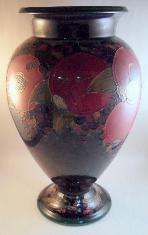 306: Moorcroft Glazed Vase
