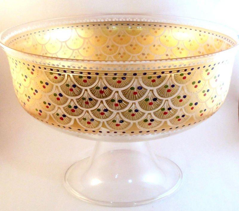 310: Murano Glass Serving Piece