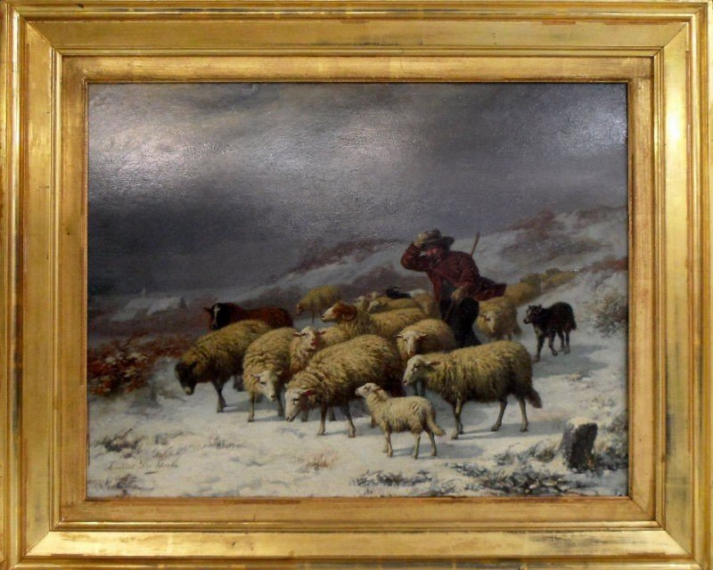 308: Laurent de Beul Oil Painting on Canvas