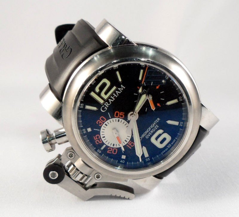 317A: Mens SS Graham Chronofighter Watch