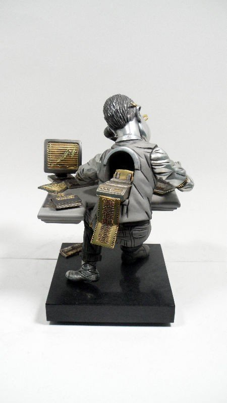 "634A: Frank Meisler Sculpture ""Balancing Act"" - 3"