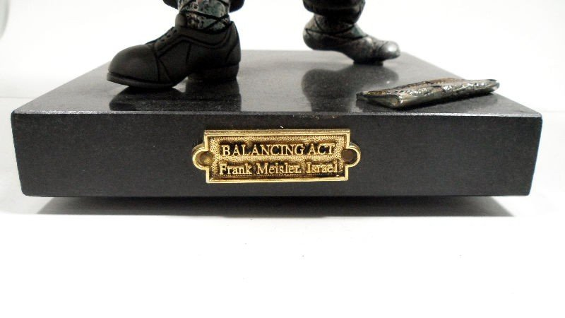 "634A: Frank Meisler Sculpture ""Balancing Act"" - 5"