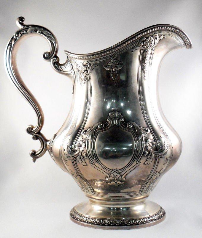 9: Gorham Sterling Silver Gregorian Ewer