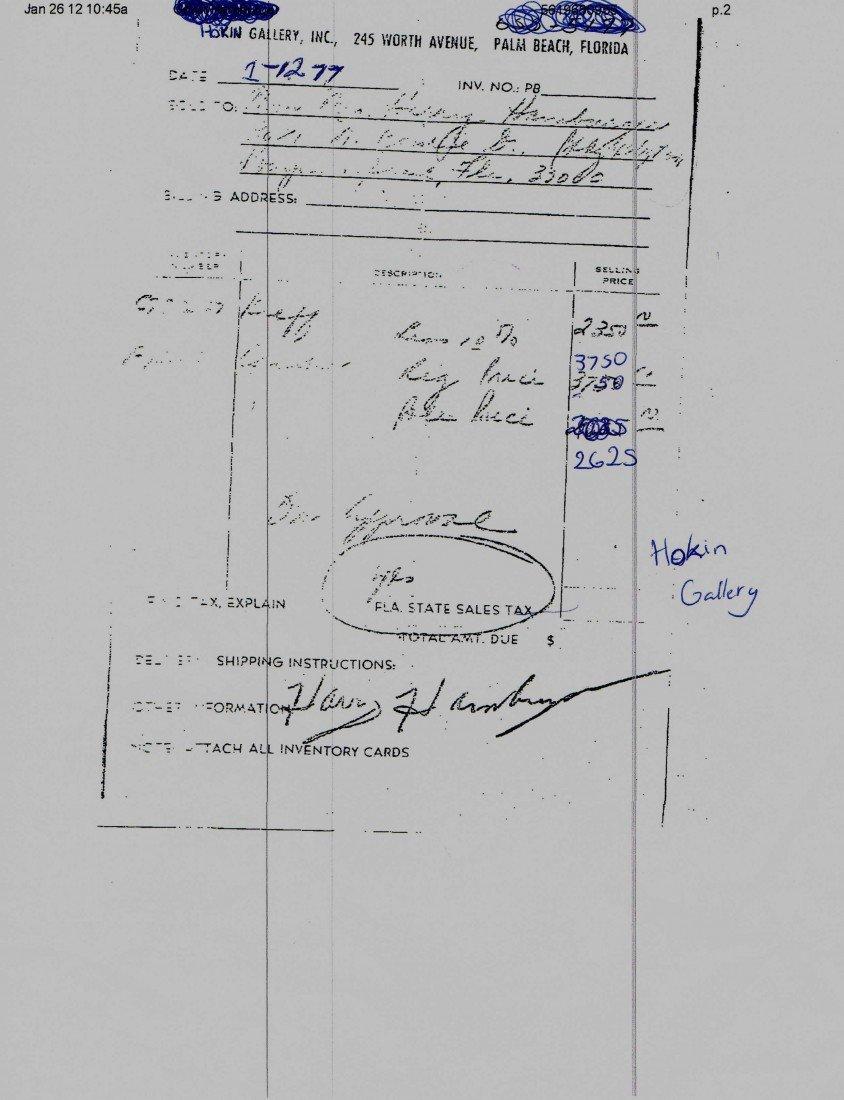 342: Alexander Calder Gouache on Paper - 4