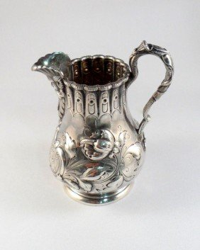 Tiffany & Co. Sterling Silver Repousse Creamer