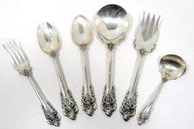 Wallace Grande Baroque Sterling Serving Pieces (6