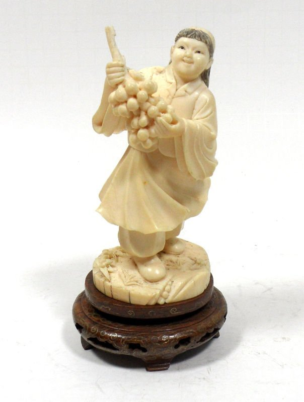 510: Chinese Republic Ivory Carved Figure