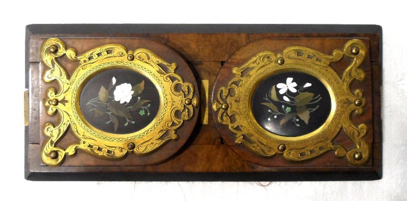 512: Pietre Dure & Bronze Mounted Bookends