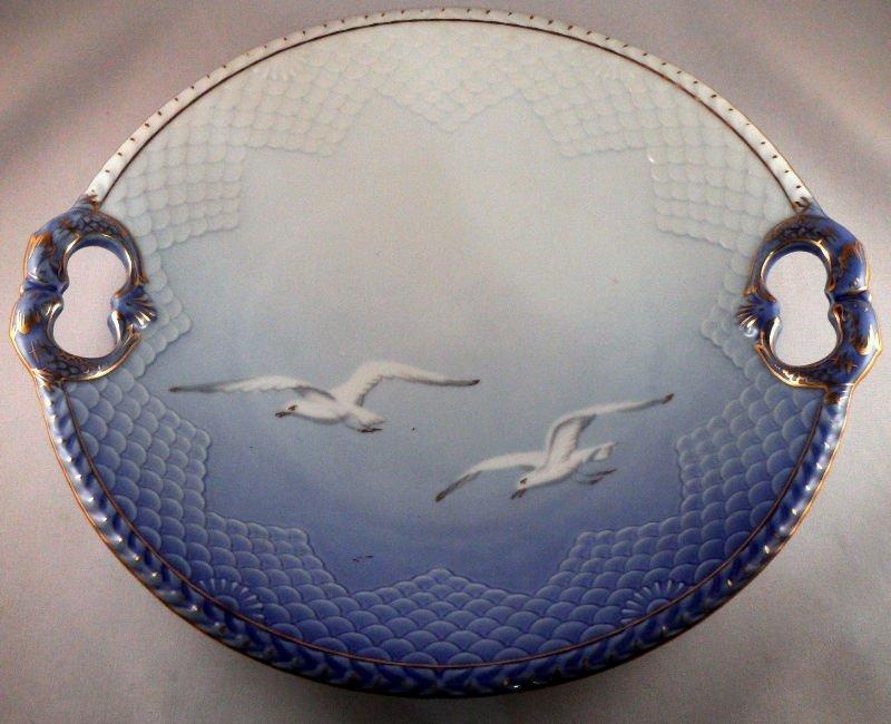 819:B & G  Seagull Cake Dish
