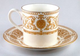 Royal Worcester Fine Bone China Set Of 8