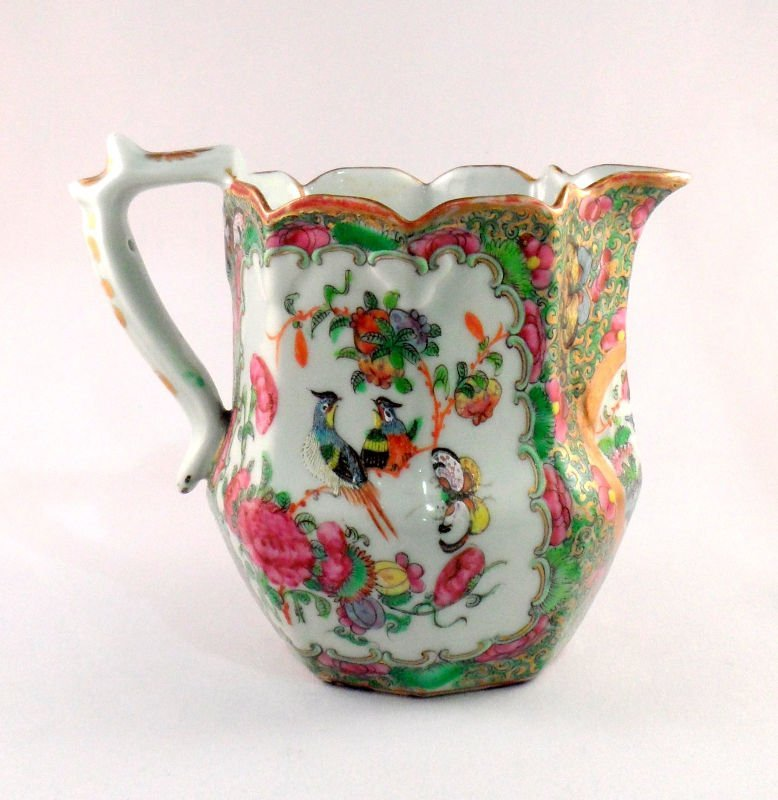 844: Chinese Rose Medallion Pitcher