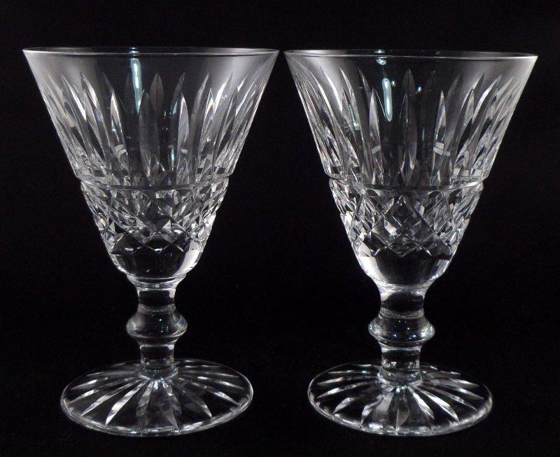 "848: Set of 7 Waterford Crystal ""Lismore"" Wine Glasses"