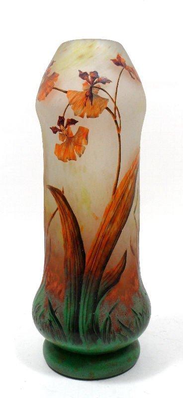 840A: Daum Nancy Vase