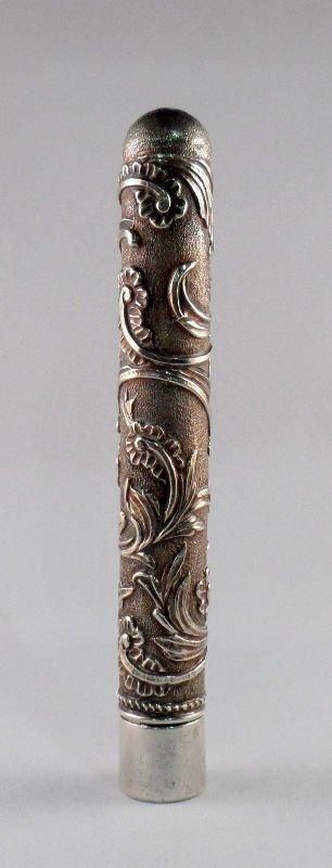 3: Sterling Silver Cigar Holder