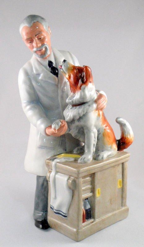 "5: Royal Doulton ""Thanks Doc"" Figurine"