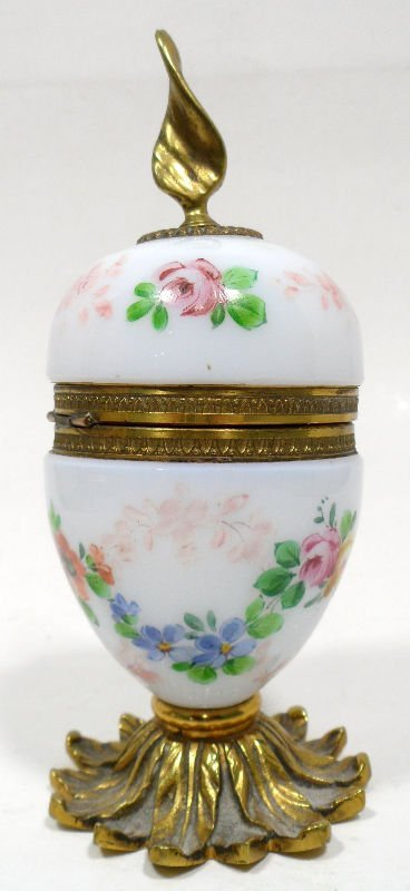 15: French Opaline Glass Lighter