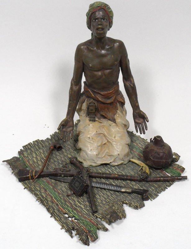35A: Bergmann Austrian Bronze Signed Figure