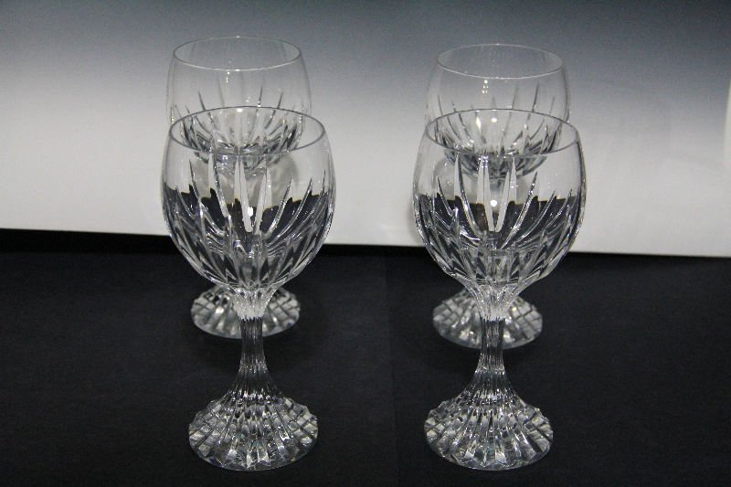 2: Baccarat Crystal Massena Red Wine Goblets (4)