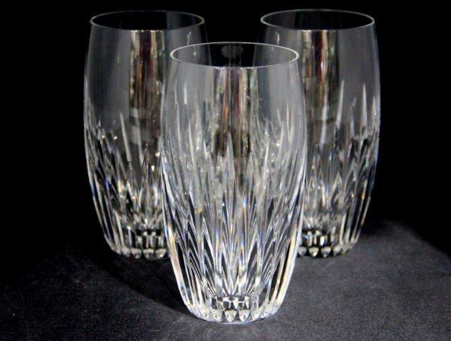 6: Baccarat Crystal Massena Juice Glasses (3)