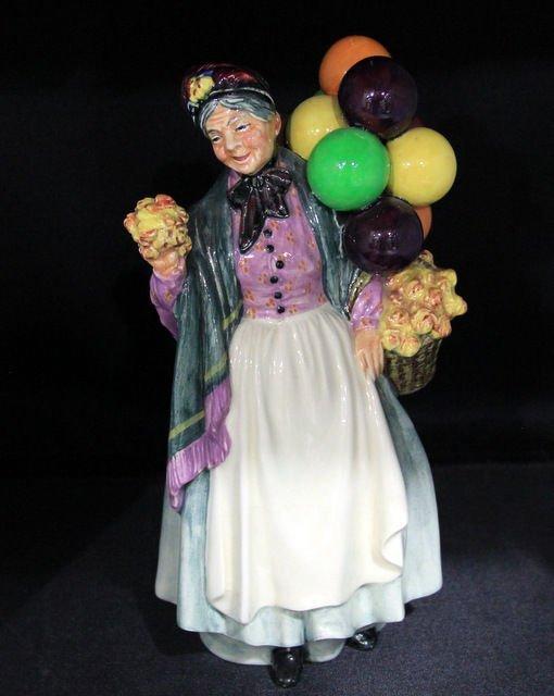 "8: Royal Doulton ""Biddy Penny Farthing"" H.N. 1843"