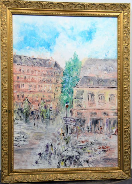 11: Alfons Bach (1904-1999) Oil Painting on Canvas