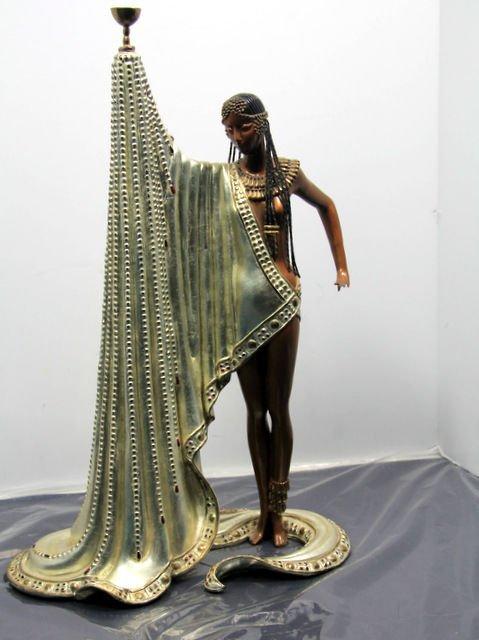 "12: Erte Bronze Ltd. Edition Sculpture ""The Slave"""