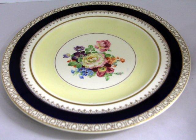 16: Woods Ivory Ware English Porcelain Dinner Plates-12