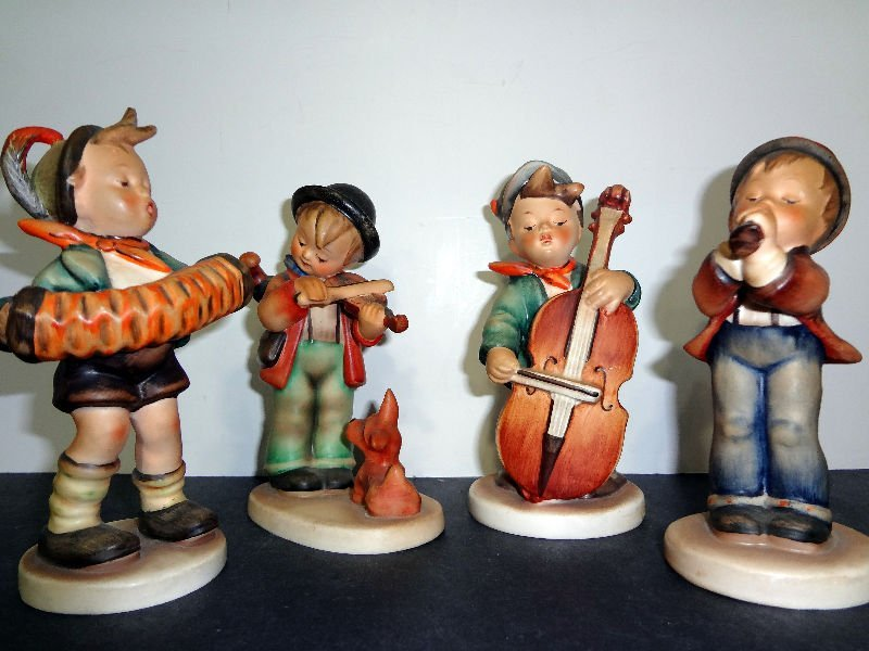 224: Hummel Orchestra Figurines(Collection of 4)