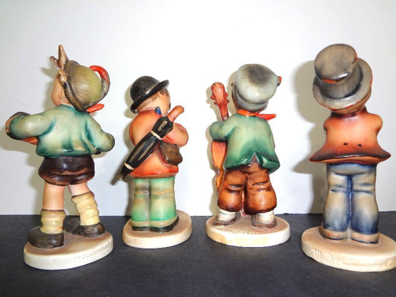 224: Hummel Orchestra Figurines(Collection of 4) - 2