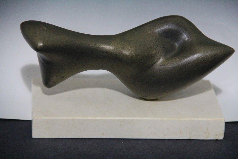 160A: Marina Nunez Del Prado Bolivian 1910-1996 Bronze