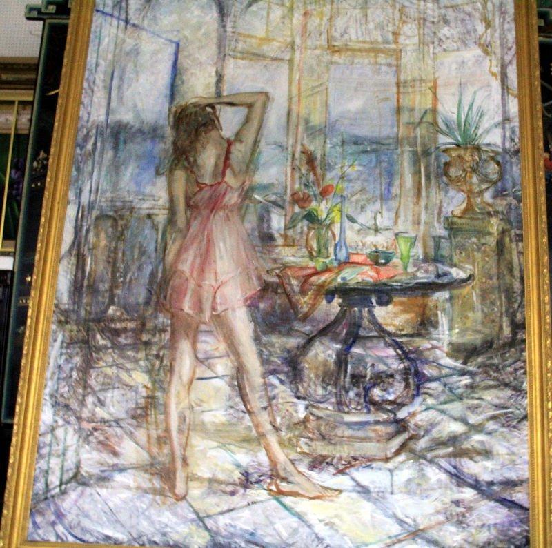 436: Albert Popa Oil Painting On Canvas