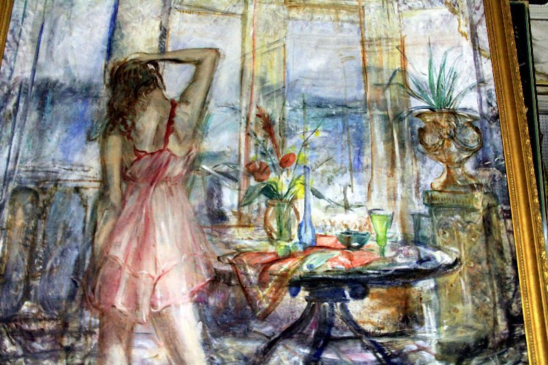 436: Albert Popa Oil Painting On Canvas - 2