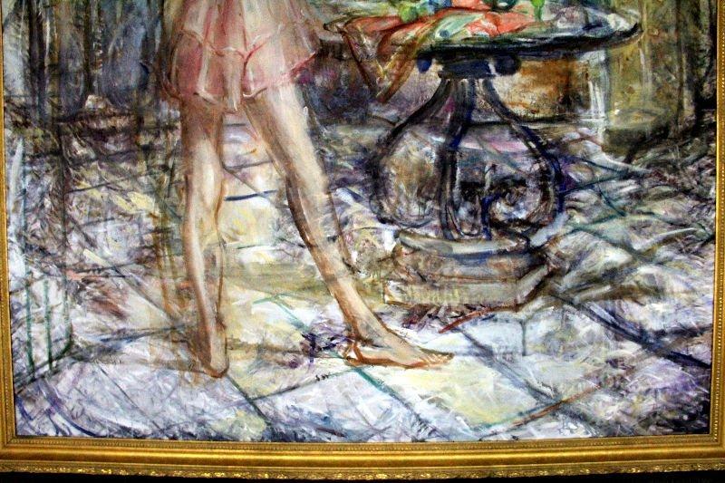 436: Albert Popa Oil Painting On Canvas - 3