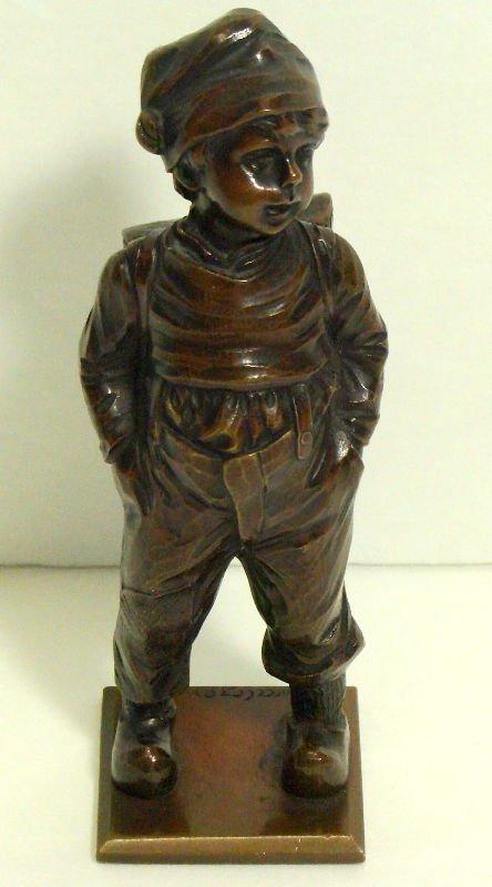 505: Kowal Czewski Bronze Figure