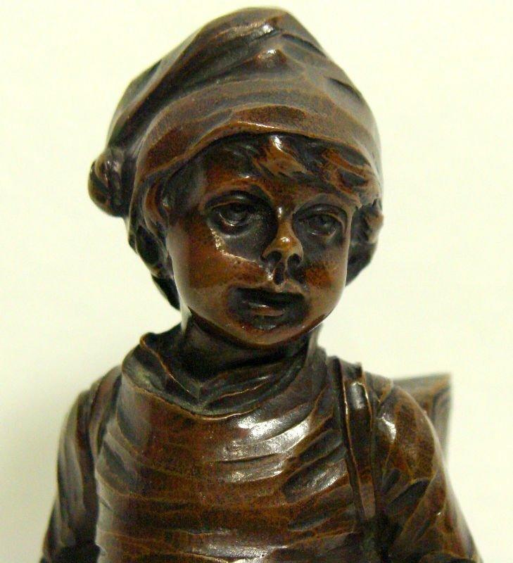 505: Kowal Czewski Bronze Figure - 2
