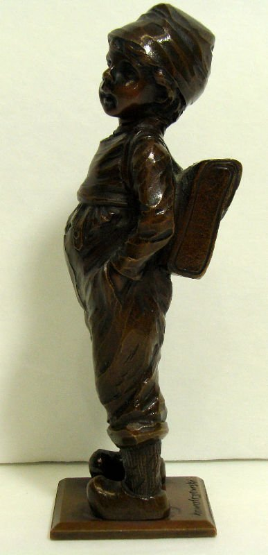 505: Kowal Czewski Bronze Figure - 4