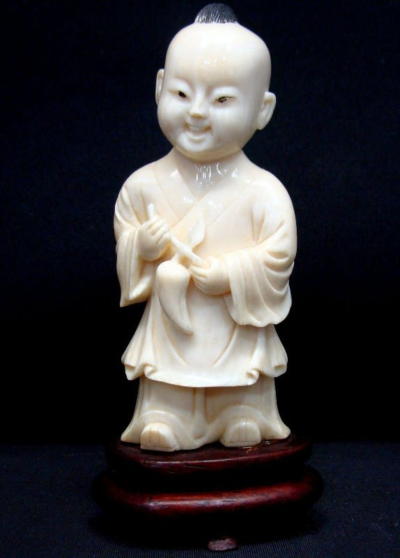 508: Chinese Cultural Revolution Carved Ivory Figure