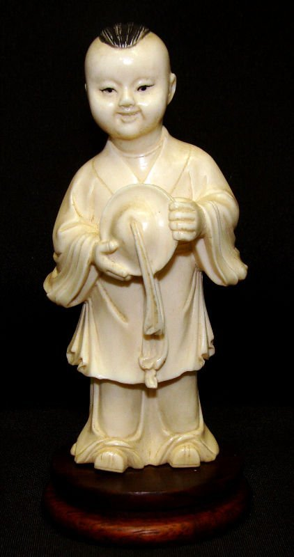 513: Chinese Cultural Revolution Carved Ivory Figure