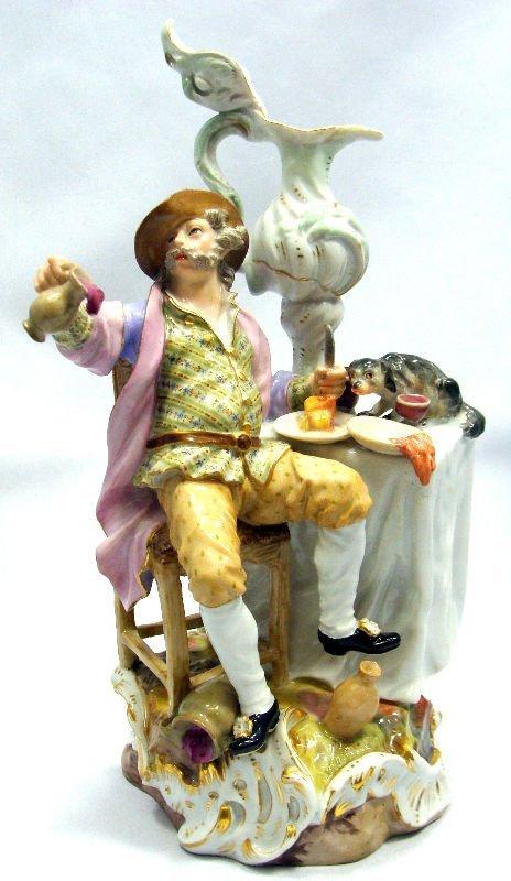 901A: 19th Century Meissen Porcelain Figural Group