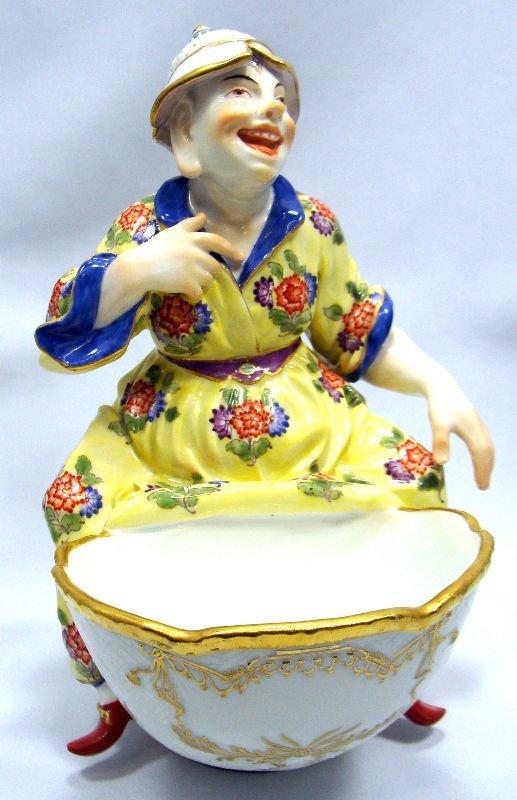 5: 19th Century Meissen Figural Sweet Meat Dish