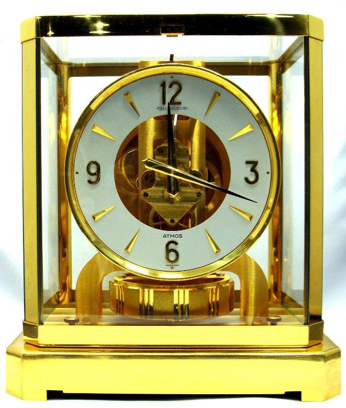 8: Jaeger Le Coultre Atmos Clock