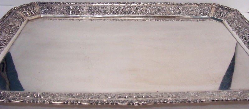 692: 7pc Sterling Silver Figural Teaset - 5