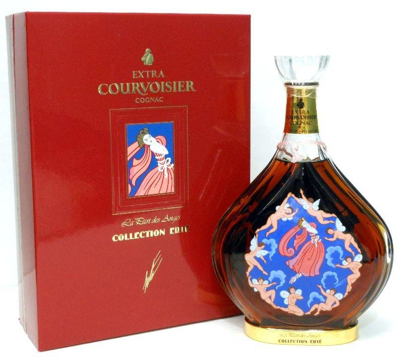 """7: Erte """"The Angel Shares"""" Cognac Bottle"""