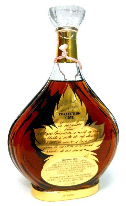 """7: Erte """"The Angel Shares"""" Cognac Bottle - 5"""