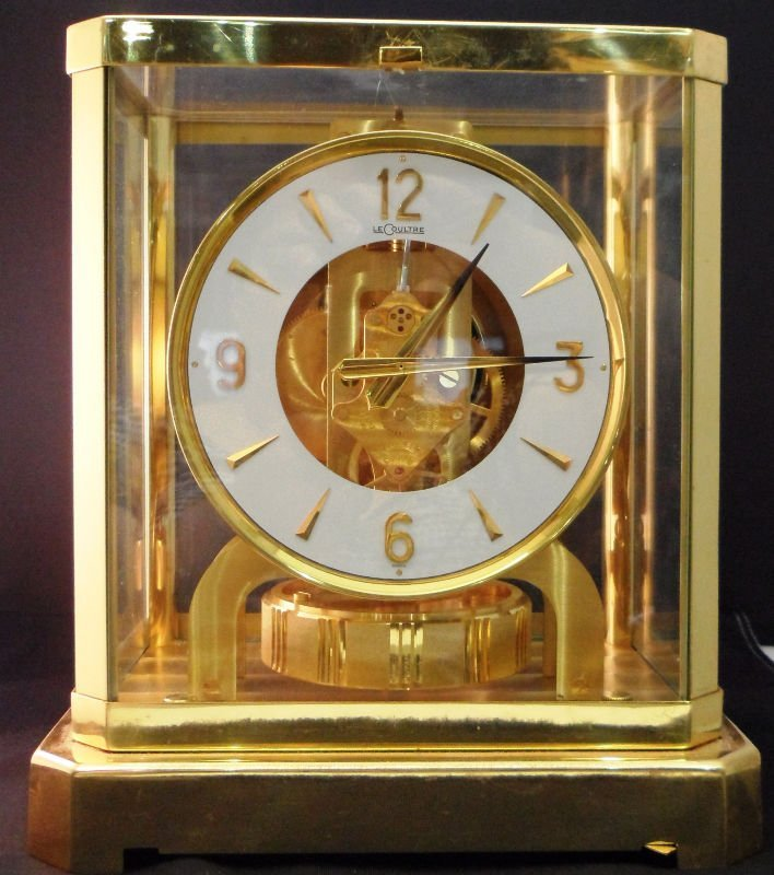 8: Le Coultre Atmos Perpetual Motion Clock