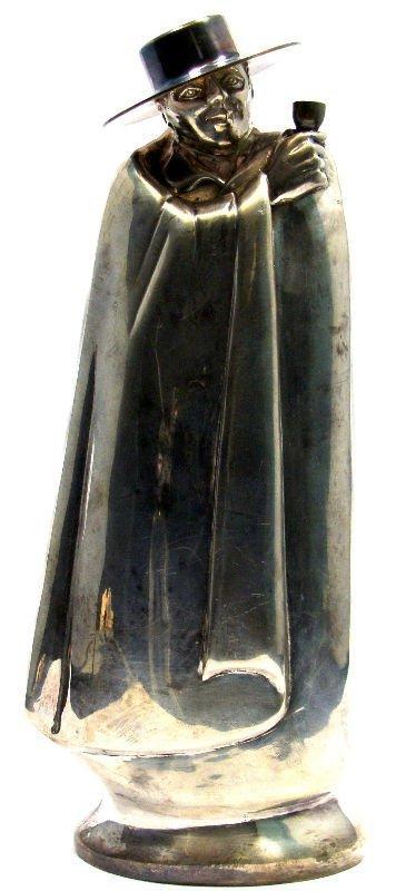 17: English Silver Lambert & Co. Mysterious Figure